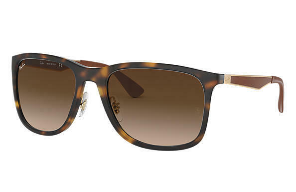 3a54b632f Ray-Ban RB4313 894/13 Sunglasses Tortoise:Gold/Brown Gradient Authentic  58mm - $111.55