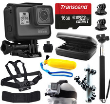 GoPro HERO6 Camera + Advanced Accessory Bundle Kit For Action Pack - $482.79