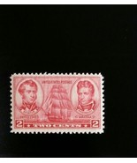 1937 2c Decatur & Macdonough, U.S. Naval Officers Scott 791 Mint F/VF NH - $0.99