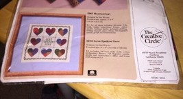 Love Spoken Here Counted Cross Stitch Kit - $8.59