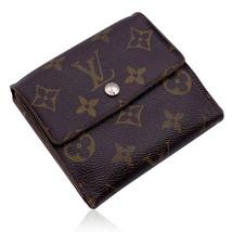 Authentic Louis Vuitton Vintage Monogram Elise Square Compact Wallet - $242.55