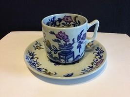 Copeland Spode New Stone England Bowpot Blue Multicolor Demitasse Cup An... - $20.00