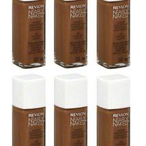 (6-PACK) Revlon Nearly Naked Makeup, SPF 20, Nutmeg 230 - 1 fl oz bottle - $64.99