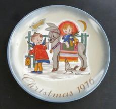 "Sacred Journey 1976 Christmas Plate-Berta HummeL-Schmid W. Germany 7 3/4"" - $8.91"