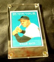 Willie Mays Baseball Trading Card # 482 AA19-BTC4007 Vintage Collectible