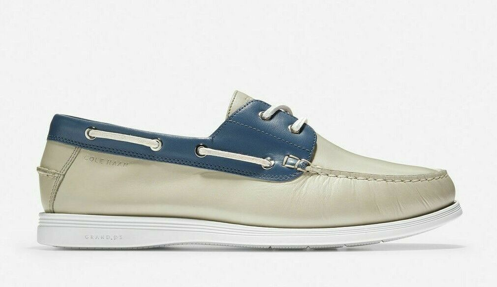 Primary image for COLE HAAN CORNEL 2 EYE MEN'S LEATHER BOAT SHOES #C32580