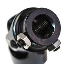 "Forged Steel Yokes Steering Shaft Universal U-JOINT 1"" DD TO 3/4"" DD Black image 8"
