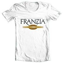 Franzia Wine T-shirt retro 100% cotton graphic printed white tee shirt beer image 1