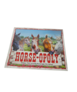 Horse Opoly Board Game Late For The Sky Encourages Horseplay New Sealed ... - $19.79