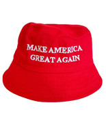 MAGA President Donald Trump Make America Great Again Hat Red Bucket Hat - $15.83
