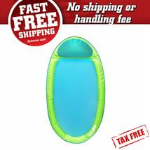Pool Water Hammock Inflatable Swimming Lake Raft Floating Chair Net Loun... - $53.90