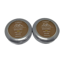 Loreal True Match Super Blendable Powder Warm Deep N8 Cappuccino Mirror ... - $14.49