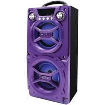SYLVANIA SP328-PURPLE Bluetooth(R) Speaker with Speakerphone (Purple) - $49.00