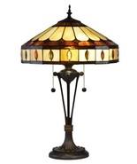 Table Lamp DALE TIFFANY JULIO 2-Light Antique Bronze Metal - $634.79 CAD