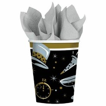 Black Tie Affair 36 Ct Paper 9 oz Cups New Years Eve - $10.88