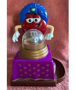 2008 M&M's Fun Fortunes The Great Red-ini Fortune Teller Candy Dispenser... - $11.87