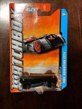 Batman BATMOBILE Die Cast Matchbox MBX Adventure City Grey/Silver DEFECT... - $3.99