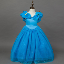 Kids Girl Princess Sleeveless Tutu Cake Skirt Child Princess Party Fancy... - $28.99