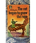 VINTAGE C W GRAFTON/THE RAT BEGAN TO GNAW THE ROPE/DELL PB #180/ 1943/1S... - $9.00