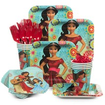 Elena Of Avalor Birthday Tableware (Plates Napkins Cups Table Covers)(SE... - £32.39 GBP