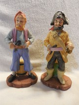 Vintage Lefton Japan Ceramic Pirates of the Caribbean Figurines Set of 2... - $29.95