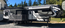 42' 2015 Heartland Cyclone 5th Wheel Toy Hauler FOR SALE IN Gig Harbor, WA 98329 image 1