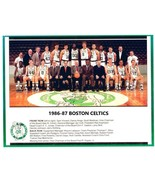 1986-87 BOSTON CELTICS 8X10 TEAM PHOTO BASKETBALL PICTURE NBA - $3.95