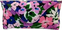 NEW WITH TAGS VERA BRADLEY FLOWER GARDEN LARGE MAGNETIC FLAP EYEGLASS CASE  - $20.00