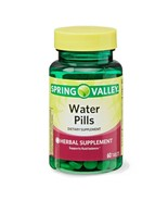 Spring Valley Water Pills Herbal Supplement 60ct Tablet  Fluid Balance E... - $8.12