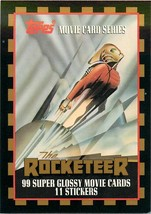 1991 Topps The Rocketeer - Pick / Choose Your Cards - $0.99
