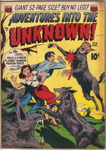 Adventures Into The Unknown Comic Book #18, ACG 1951 VERY GOOD+ - $81.19