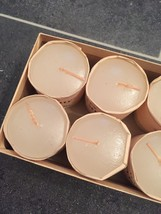 """Complete Set of 8 Clarke's """"Pyramid"""" Night Lights (Candles)-RARE in original box image 5"""