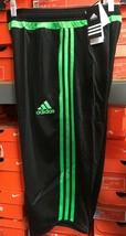 Adidas Tiro 15 3/4 PNT Short 3/4 Adidas Size Small Black/Green - $39.60