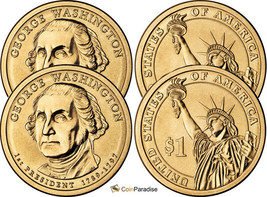 """Thomas Jefferson Presidential Dollars US Mint  /""""New/"""" 2007 P+D+S 3 Coin Set"""