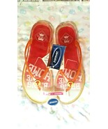 NWT PHILLIES PINK SPARKLY PLASTIC FLIP-FLOPS: FOREVER COLLECTIBLES: WOME... - $8.00