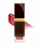 Tom Ford Lip Lacquer Luxe Lip Gloss Insouciant 04 Vinyl Coral Pink Full Size Nib - $39.50