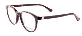 Calvin Klein CK5884 480 Women's Eyeglasses Frames Striped Violet 52-17-1... - $90.00