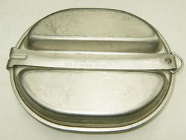 US Army Vietnam Era Stainless Steel Mess Kit Plate Regal 1966-1982 No Un... - $34.00