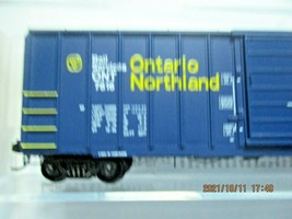 Micro-Trains Stock # 02500206 Ontario Northland 50' Rib Side Boxcar N-Scale image 2