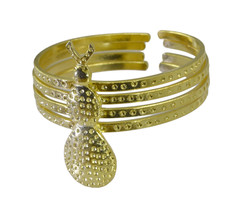 fine-looking Plain Gold Plated multi Bangle Glass india US - $13.16