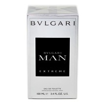Bvlgari Man Exreme Eau De Toilette Natural Spray 100 ML/3.4 Oz. NIB-BV10038062 - $58.91