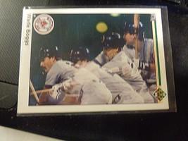 1990 Upper Deck #555 Wade Boggs Boston Red Sox Baseball Card ~ NM - $1.75