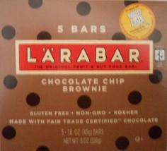 Chocolate Chip Brownie Cookie Bars - 1.7oz Bars (5 pack) - $12.50