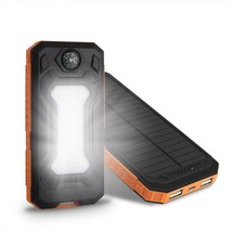 Power Bank Waterproof 300000 MAH With Two USB Solar Charger Case Univers... - $19.99