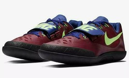 685134-600 Nike Zoom Rival SD 2 Shot-Put Throwing Shoes Purple Men's Size 8.5 - $59.35