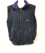 Patagonia Size M Women's Fleece Vest navy blue - $150.00