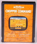 CHOPPER COMMAND Atari Game Cartridge-ACTIVISION-Video Games~Vintage 1982... - $4.89