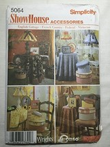 Simplicity 5064 ShowHouse accessories sewing pattern - $8.39
