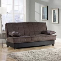 Convertible Multi Position Sofa Microfiber Upholstery Buld In Storage Ch... - €432,71 EUR
