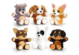 keel toys new sparkle eyes dogs choice six one supplied at random - $8.99